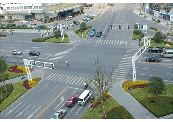 交通信号、公路电子屏架、标志牌 JT-002