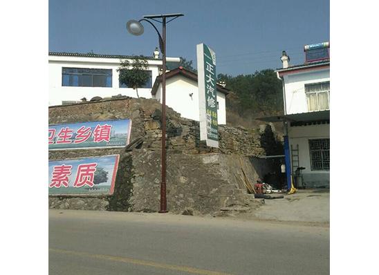 远安县嫘祖镇仿古太阳能路灯工程